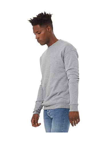 Bella + Canvas - Unisex Drop Shoulder Sweatshirt - 3945-2XL - Athletic Heather
