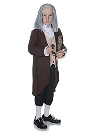 Underwraps Children's Ben Franklin Costume - Medium