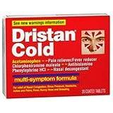 Dristan Dristan Cold Tablets Multi-Symptom Formula, 20 tabs (Pack of 3)