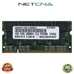Ddr400 Sodimm 200 Pin - FUJIT-1GB-DDR400S 1GB Fujitsu AMILO A 3667G PC3200 DDR400 200-pin SODIMM 100% Compatible memory by NETCNA USA