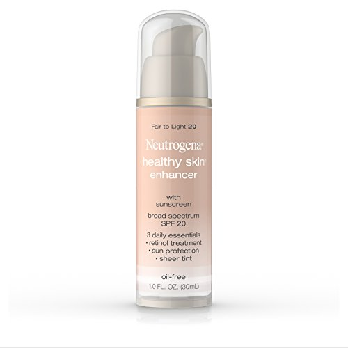 Neutrogena Healthy Skin Enhancer, Broad Spectrum Spf 20 , Fair To Light 20, 1 Oz. - 1 Skin Enhancer