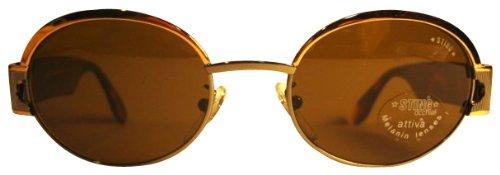 Sting - Gafas de sol - Retro - para hombre Marrón cobre ...