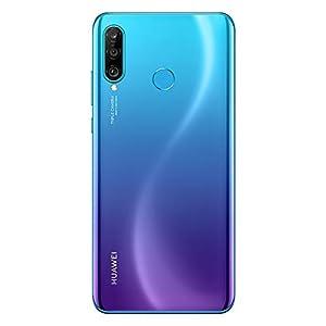 HUAWEI P30 Lite New Edition Marie-L21BX Dual-SIM 256GB (GSM Only | No CDMA) Factory Unlocked 4G/LTE Smartphone (Peacock Blue) – International Version