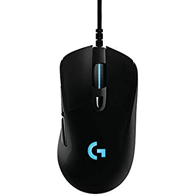 Logitech G403 Prodigy RGB Gaming Mouse     16 8 Million Color Backlighting  Programmable Buttons  Onboard Memory  12 000 DPI