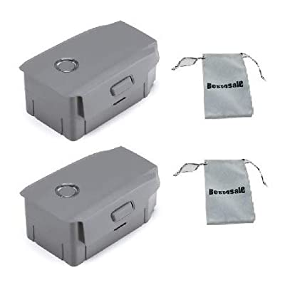 DJI Mavic 2 Intelligent Flight Battery for Mavic 2 Zoom and Mavic 2 Pro, 2-Pack, with Bag: Electronics