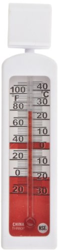Rubbermaid Commercial FGTHR80P Refrigerator/Freezer Thermometer