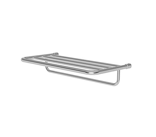 BathDecor Premium Hotelier Hotel Shelf Frame Towel Bar