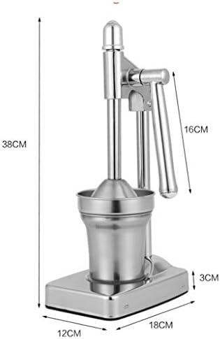 ECSWP Extractor Manual del Jugo de la legumbre de Fruta del exprimidor del Juicer del Juicer del Acero Inoxidable