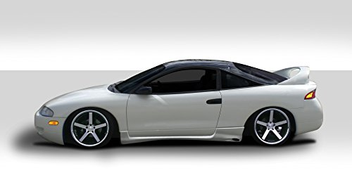 Duraflex ED-ILU-318 Kombat Side Skirts Rocker Panels - 2 Piece Body Kit - Compatible For Mitsubishi Eclipse 1995-1999