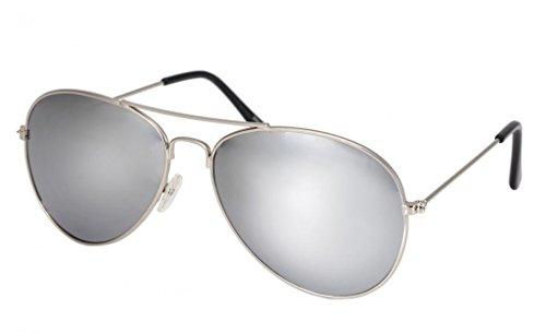 WODISON Vintage Aviator Sunglasses Reflective Mirror Lens (Vert foncé) cdySjtzYJ