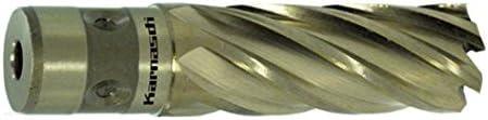 HSS-XE Kernbohrer von Karnasch Kernlochbohrer, Bohrer, Fein Quick-In Schaft, Nutzlänge 40mm, Gold-Line 40