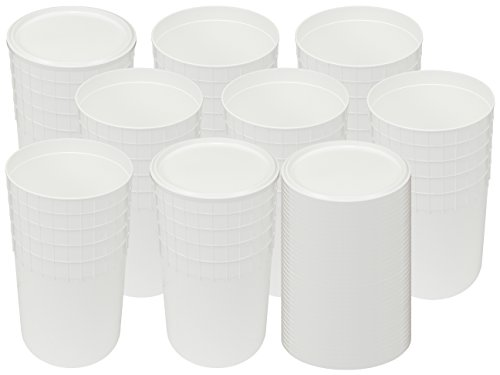 (2.5 Gallon White Ice Cream Tub with Lid (40))