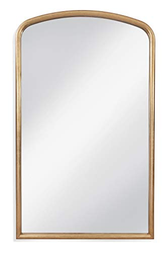 Bassett Mirror Brookings Leaner Mirror in Antique Gold Leaf Finish M4218