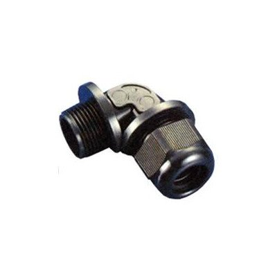 Morris 22582 Cable Gland, NPT Thread, 90 Degree, Nylon, 3/8
