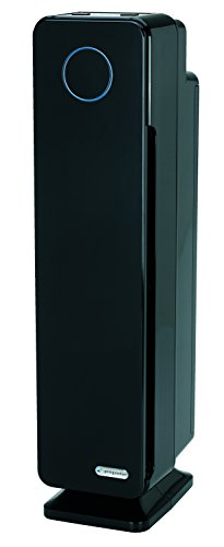 GermGuardian AC5300B Elite 3-in-1 Air Cleaning System with True HEPA Filter, UV-C Sanitizer and Odor Reduction, 28-Inch Tower Air Purifier