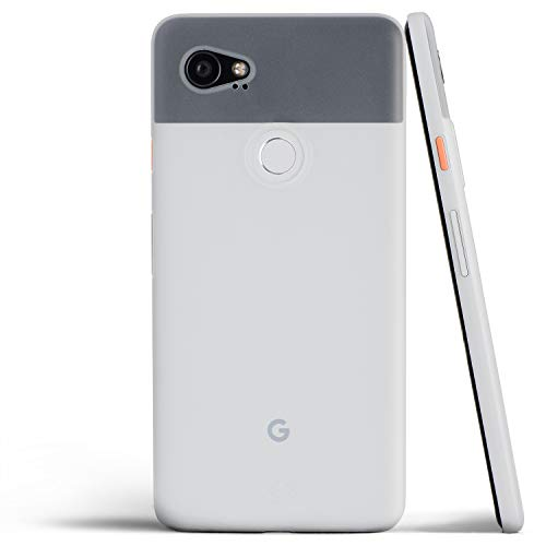 totallee Pixel 2 XL Case, Thinnest Cover Premium Ultra Thin Light Slim Minimal Anti-Scratch Protective - for Google Pixel 2XL (Frosted White)