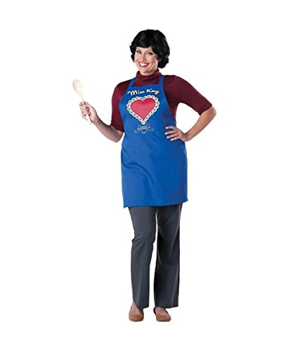 InCharacter Duck Dynasty Women's Miss Kay Costume, Blue, One Size by Fun World ()