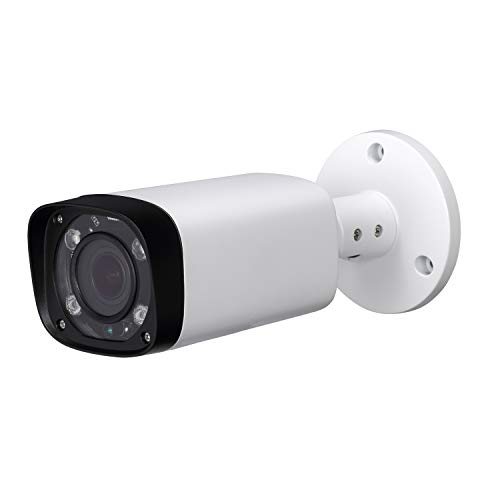 - 4MP HD Security POE IP Camera,IPC-HFW4431R-Z, 2.7-12mm Motorized Varifocal Lens 4X Optical Zoom, All-Metal Bullet Camera,Smart H.265, 262ft Smart IR Night Vision, WDR DNR, IP67,ONVIF