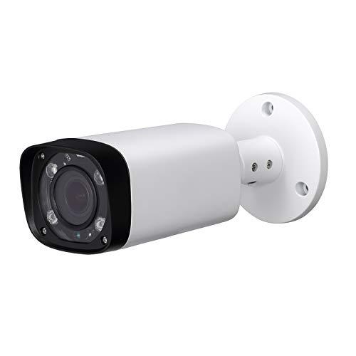 4MP HD Security POE IP Camera,IPC-HFW4431R-Z, 2.7-12mm Motorized Varifocal Lens 4X Optical Zoom, All-Metal Bullet Camera,Smart H.265, 262ft Smart IR Night Vision, WDR DNR, IP67,ONVIF