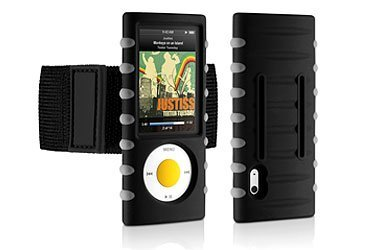 DLO Jam Jacket Treck Armband Case for iPod nano 5G (Black -BULK (Jam Jacket Case)