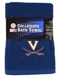 University Of Virginia Cavaliers Bath Towel