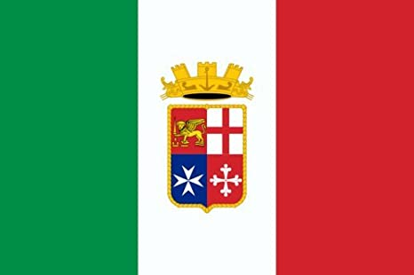 photograph about Printable Italy Flag named : DIPLOMAT-FLAGS Printable Naval Ensign of Italy