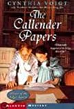 The Callender Papers, Cynthia Voigt, 0808559486