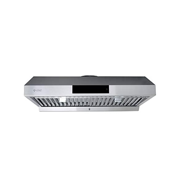 Hauslane – Chef Series 30″ PS18 Under Cabinet Range Hood, Stainless Steel...