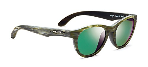 Rudy Project Warp Lunettes, Green Wood LS Musk