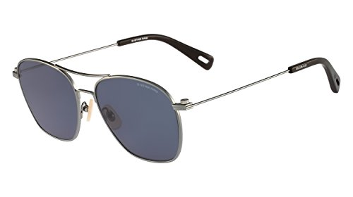 G-Star Raw Men's GS110S Aviator Sunglasses, Gunmetal, 56 - Raw Star G Sunglasses