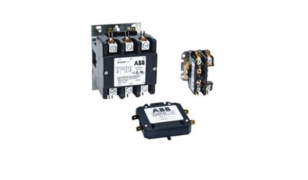 120VAC Coil DP60C2P-1 60 Amps ABB 2 Pole Definite Purpose Contactor