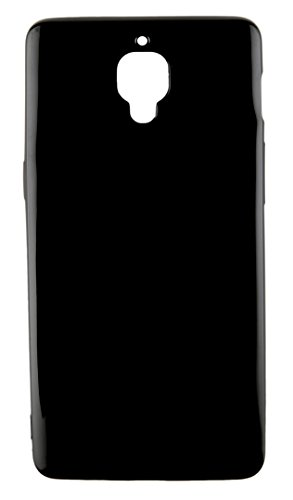 Dekkin Case for One Plus 3 Shock Proof TPU Case for OnePlus 3 Back Cover Mobile Phone Black