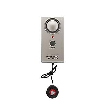 Alarma de nivel de agua de seguridad Detector de sensor de fugas de intrusión de agua Alarma Alarma de detector de agua de seguridad en el hogar 100dB: ...