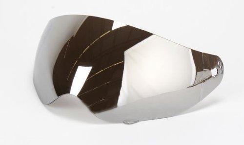 AFX 0130-0306 Face Shield for FX-37 Dual Sport Helmet - Silver/Mirror
