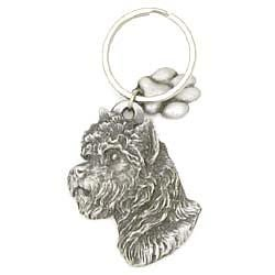Cairn Terrier Keychain by Karas and Rocha Marketing