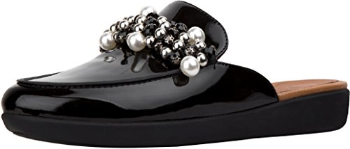 Serene Black Loafers Fitflop Mule Ladies Deco Black dSqda7x