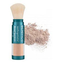 Powder Dispensing Brush (Sunforgettable Mineral Sunscreen Brush SPF 50 - medium 0.2 oz)