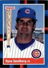 Amazoncom Ryne Sandberg 1988 Donruss Baseball Card 242