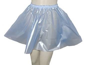 Falda círculo PVC Gran Caliente de plástico Vinilo Brillante. Azul ...