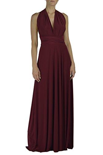 Von Vonni Infinity Dress ,Burgundy,One Size Fits USA 2-10