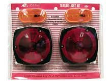 Rv Boat Travel Trailer Stop, Turn, Tail Light Kit - TOW Lights by Cooper Hand Tools