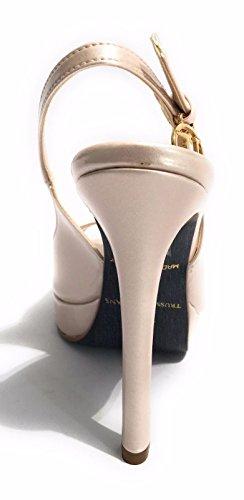 Vernice Scarpe Jeans 25 Donna DS17TJ02 TC Open Cipria Trussardi PL Toe 110 O4xg5
