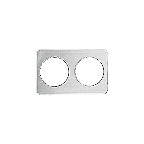 Stanton Trading AP88 Adapter Plate with 2 Holes, 8-3/8-Inch, Stainless Steel