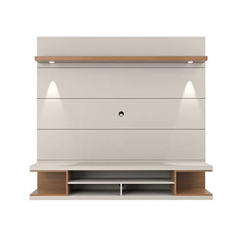 Manhattan Comfort 27951 Utopia Entertainment Center, Off- Off-White/Maple Cream ()