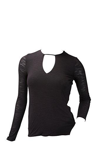 halston-heritage-womens-ls-notch-neck-top-black-large