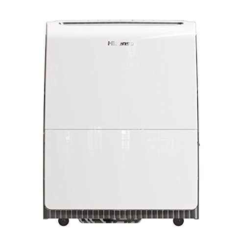 Hisense 3 Speed Inverter Dehumidifier with Built-in Pump, 100 Pint, White