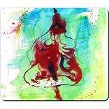 Abstractism Design Big Rectangular Mouse Pad Splash