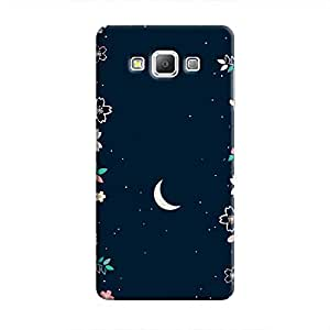 Cover It Up - Flower Moon Galaxy A5 Hard Case
