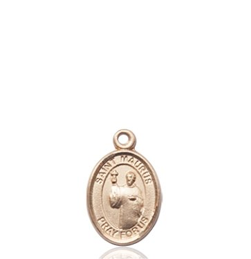 14kt Gold St. Maurus Medal