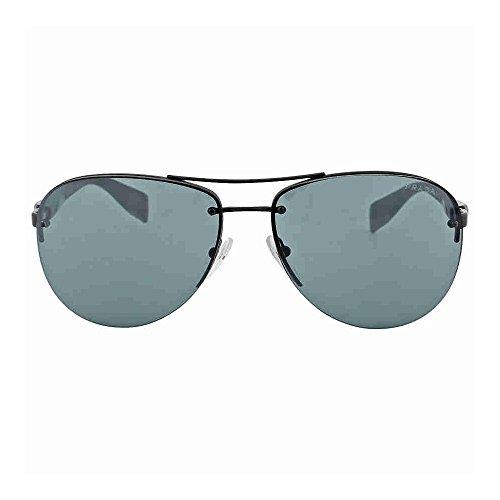 Prada Sport (Linea Rossa) PS56MS Sunglasses-1BO/1A1 Black Demi (Gray Lens)-62mm
